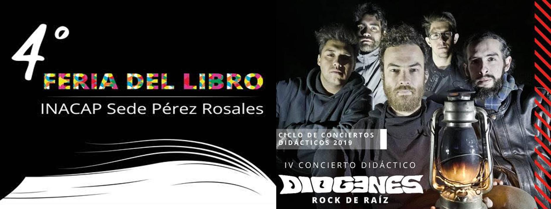 Cuarta Feria del Libro INACAP Sede Pérez Rosales y Ciclo de Conciertos Didácticos